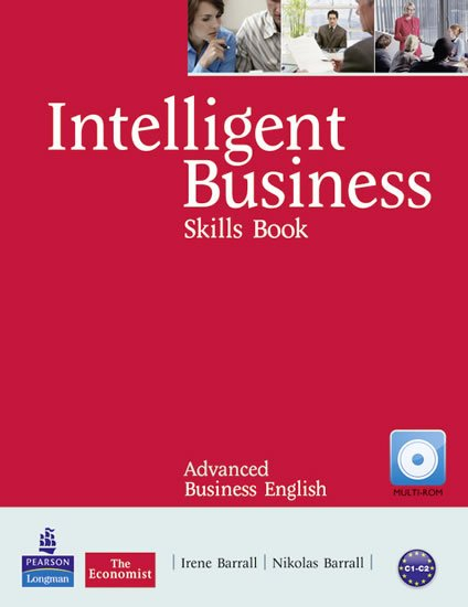 Barrall Irene: Intelligent Business Advanced Skills Book w/ CD-ROM Pack
