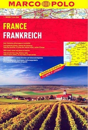 kolektiv: Francie/atlas spirála 1:300 000