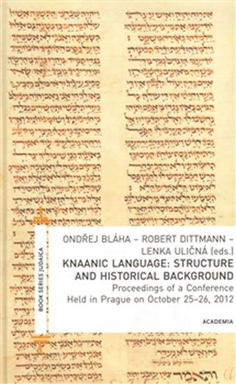Dittmann Robert: Knaanic Language: Structure and Historical Background (AJ)