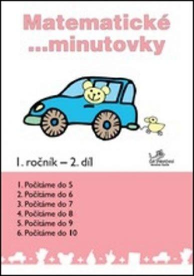 Molnár Josef: Matematické minutovky pro 1. ročník / 2. díl