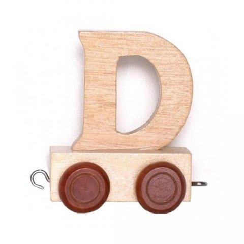 neuveden: Vagónek D - hnědá kolečka