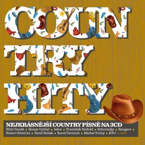 Různí interpreti: Country hity: Nejkrásnější country písně - 3CD
