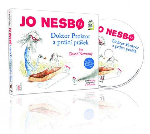 Nesbo Jo: Doktor Proktor a prdicí prášek - CDmp3 (Čte David Novotný)