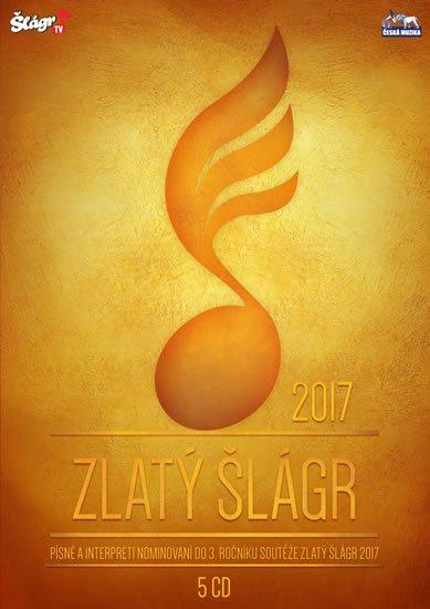 neuveden: Zlatý Šlágr - 3. ročník nominace 2017 - 5 CD