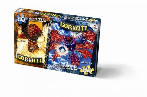 neuveden: Puzzle Mix 80/160 - Gormiti
