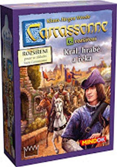 Wrede Klaus-Jürgen: Carcassonne: Rozšíření 6: Král, hrabě a řeka