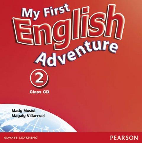 Musiol Mady: My First English Adventure 2 Class CD