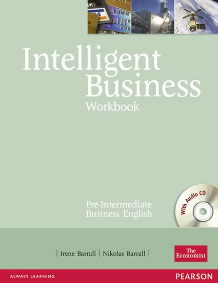 Barrall Irene: Intelligent Business Pre-Intermediate Workbook w/ CD Pack