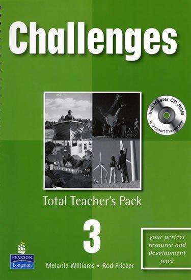 Williams Melanie: Challenges Total Teacher´s Pack 3 w/ Test Master CD-ROM Pack