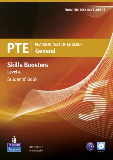 Baxter Steve: Pearson Test of English General Skills Booster 5 Students´ Book w/ CD Pack