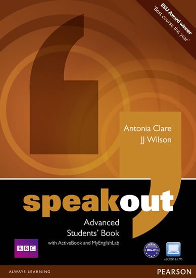 Wilson J. J.: Speakout Advanced Students´ Book w/ DVD/Active Book/MyEnglishLab Pack
