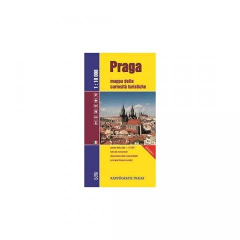 neuveden: Praga - Mappa delle curiosita turistiche /1:10 tis.