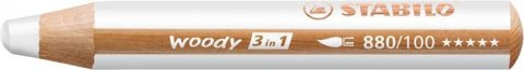 neuveden: Pastelka STABILO Woody 3v1 bílá