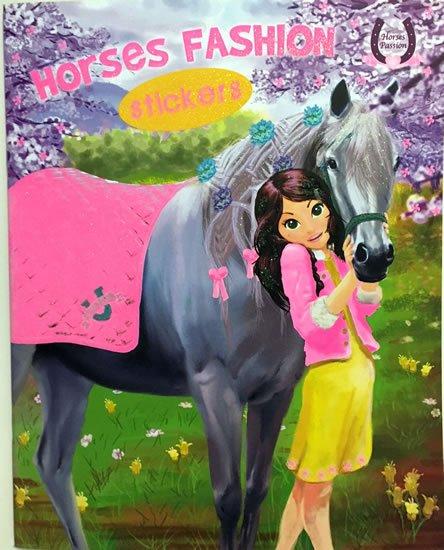 neuveden: Horses Passion 4 - Milujeme koníky - Omalovánky a samolepky