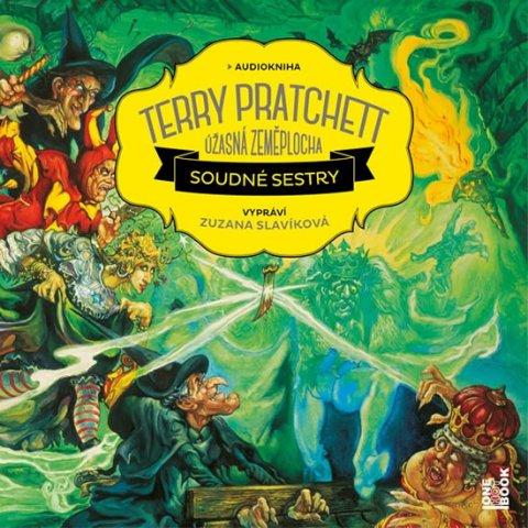 Pratchett Terry: Soudné sestry - Úžasná zeměplocha - 2 CDmp3 (Čte Zuzana Slavíková)