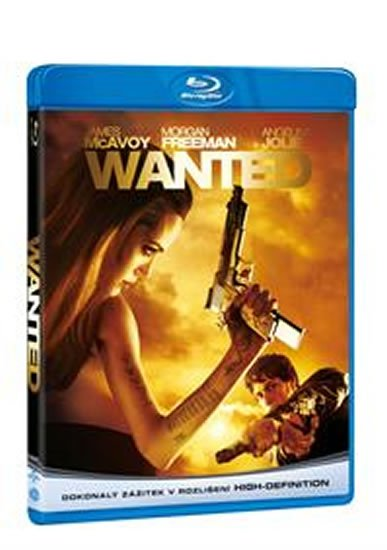 neuveden: Wanted Blu-ray