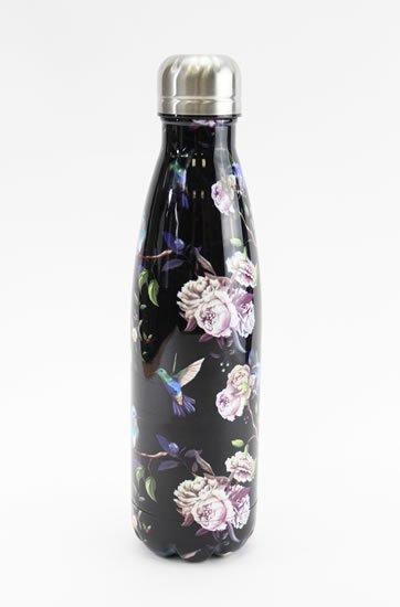 neuveden: Nerezová lahev Kolibříci