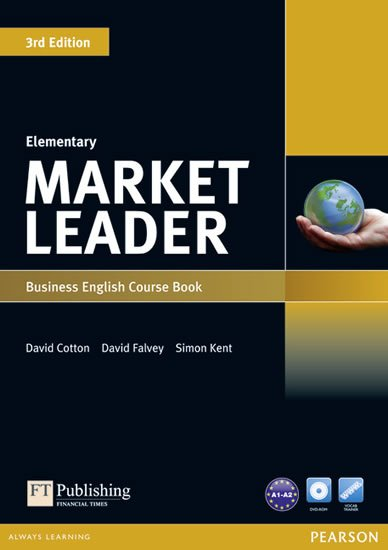 Cotton David: Market Leader 3rd Edition Elementary Coursebook w/ DVD-Rom Pack