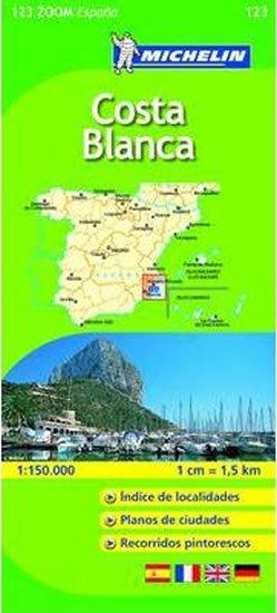neuveden: Costa Blanca - Map