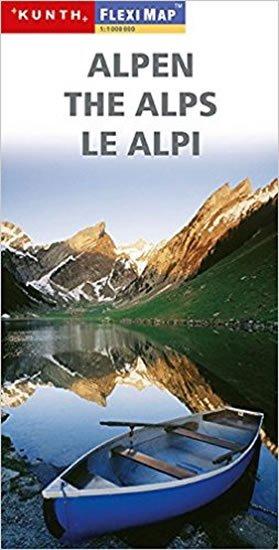 neuveden: Alpen/Fleximap 1:1M KUN