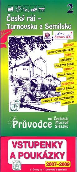 neuveden: Český ráj - Turnovsko a Semilsko 2. - Průvodce po Č,M,S + volné vstupenky a