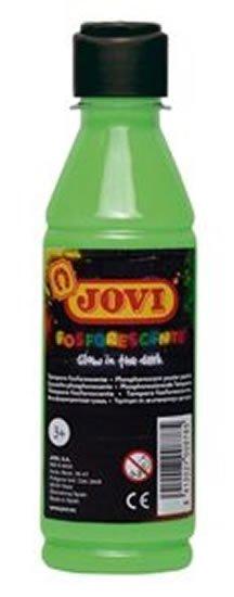 neuveden: JOVI temperová barva neónová 250ml v lahvi zelená