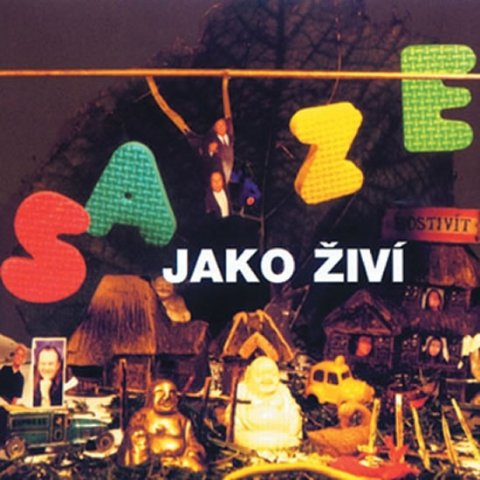 neuveden: Saze - Saze jako živí - CD