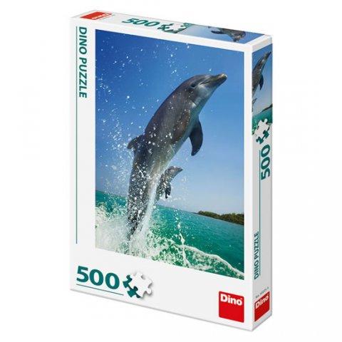 neuveden: Delfíni: puzzle 500 dílků