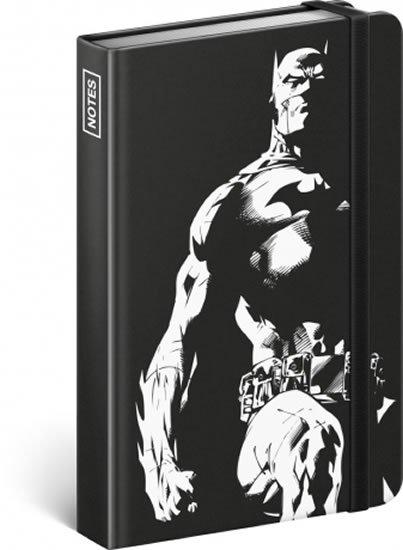 neuveden: Notes - Batman – Dark Knight, linkovaný, 10,5 x 15,8 cm