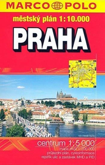 neuveden: Praha městský atlas 1:10T
