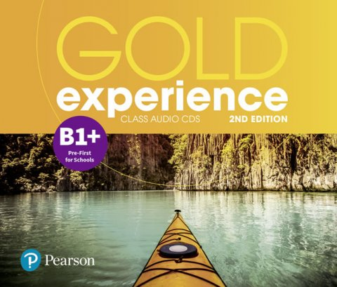 Beddall Fiona: Gold Experience 2nd Edition B1+ Class CDs