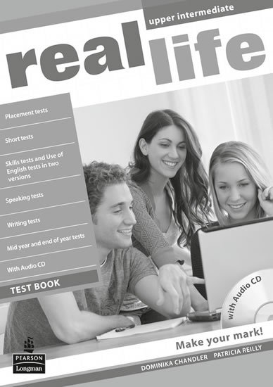 Reilly Patricia: Real Life Upper Intermediate Test Book/Test Audio CD Pack