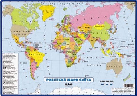 Kupka Petr a kolektiv: Politická mapa světa