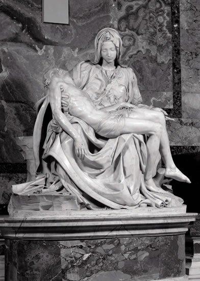 neuveden: Michelangelo: Pieta - Puzzle/1000 dílků