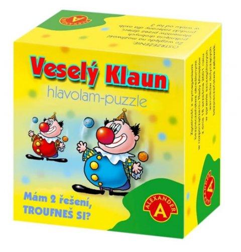 neuveden: Hlavolam - puzzle Veselý klaun