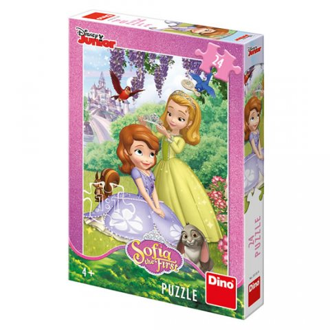 neuveden: Sofie první: puzzle 24 dílků