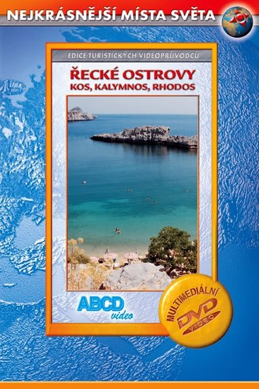 neuveden: Řecké ostrovy - Kos, Kalymnos, Rhodos - Nejkrásnější místa světa - DVD