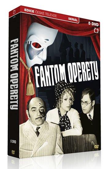 neuveden: Fantom operety - 5 DVD