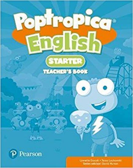 Lochowski Tessa: Poptropica English Starter Teacher´s Book w/ Online Game Access Card Pack
