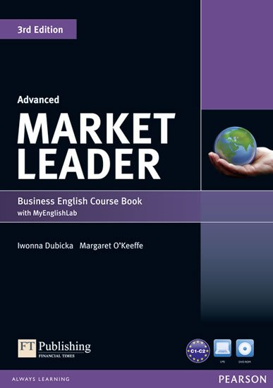 Cotton David: Market Leader 3rd Edition Advanced Coursebook w/ DVD-ROM/ MyEnglishLab Pack