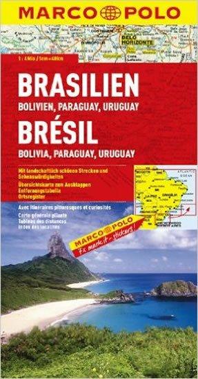 neuveden: Brazílie, Bolívie, Paraguaay, Uruguay