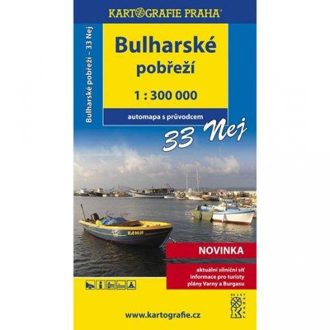 neuveden: Bulharské pobřeží 33 Nej…/1:300T automapa