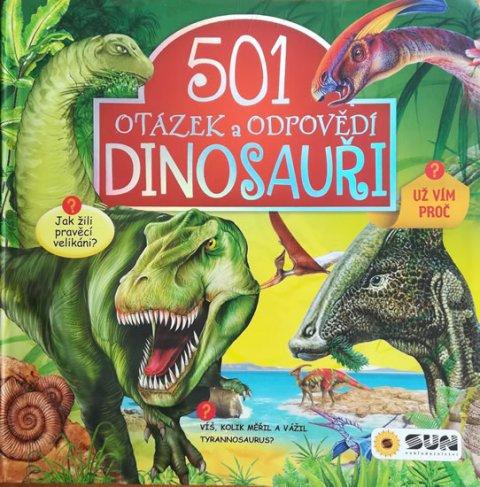 neuveden: Dinosauři - 501 otázek a odpovědí