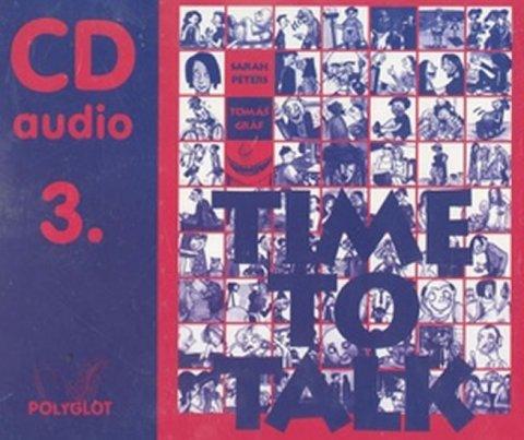 Peters Sarah, Gráf Tomáš: Time to talk 3 - audio CD