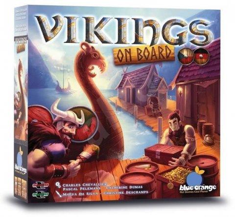 neuveden: Vikings on Board - Rodinná hra