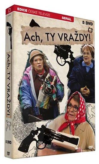 neuveden: Ach, ty vraždy! - 5 DVD