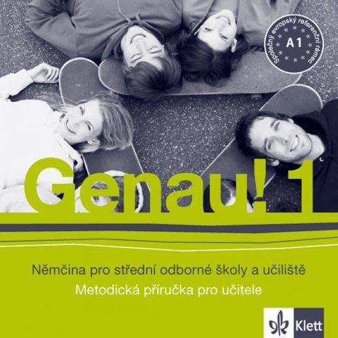 Tkadlečková C., Tlustý P.: Genau! 1 - Němčina pro SOŠ a učiliště - Metodická příručka - CD