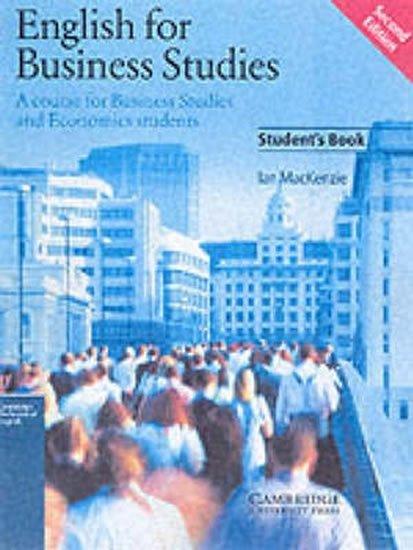 Mackenzie Ian: English for Business Studies: Student´s Book
