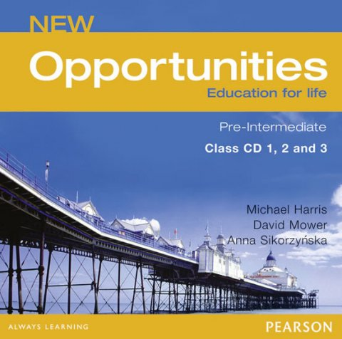 Harris Michael: New Opportunities Pre-Intermediate Class CD