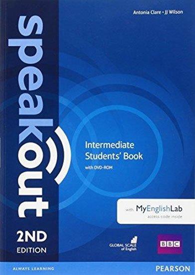 Clare Antonia: Speakout 2nd Edition Intermediate Students´ Book w/ DVD-ROM/MyEnglishLab Pa